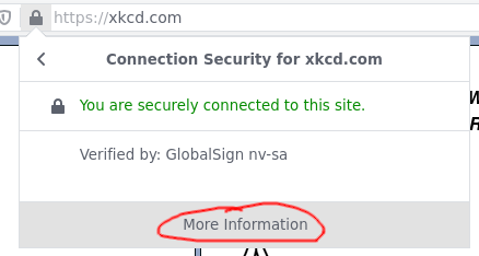 """Cert info popup with """"More information"""" annotated"""